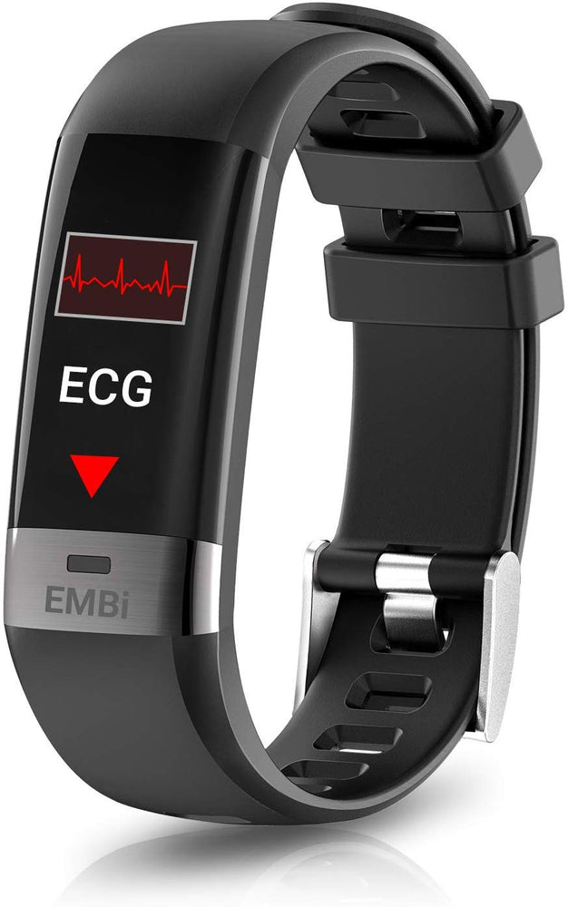 Audar EMBi ECG PPG Activity Tracker with Heart Rate Monitor Blood Pressure Sleep Monitor Step Calorie Counter - IP67 Smartwatch for Women Kids Men    Audar  Health Monitors   iDaffodil - Consumer Electronics at Affordable Prices