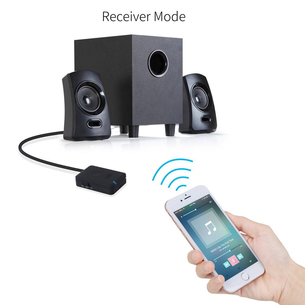 Refurbished - August Bluetooth Headphone Adaptor for TV, Send Sound from Your TV to Headphones    August  Transmitter   iDaffodil - Consumer Electronics at Affordable Prices