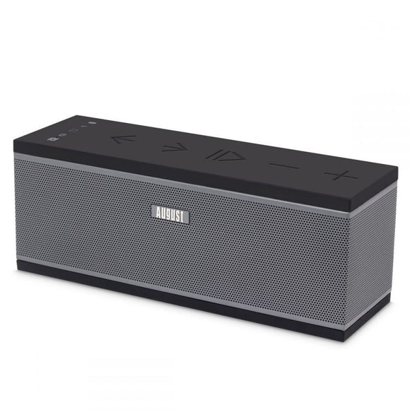 WiFi Multiroom Wireless Stereo Speaker - August WS150 – WiFi, Bluetooth and NFC Enabled, Compatible with Spotify, Tidal, Tune In and More! - 10W