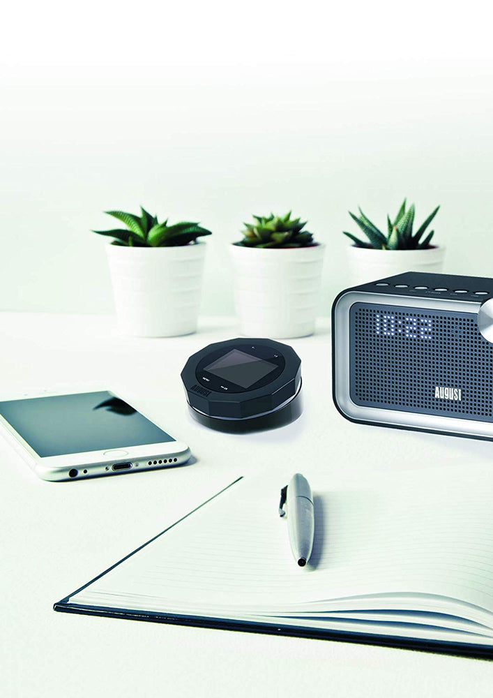 Refurbished - FM/DAB/DAB+ Radio Receiver with Bluetooth, Upgrade your Stereo System with Digital Radio - AUG DR245    August  Digital Radios   iDaffodil - Consumer Electronics at Affordable Prices