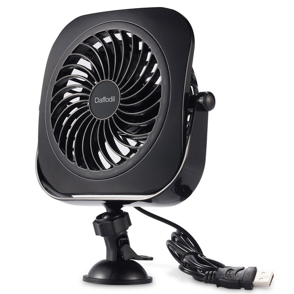 USB Suction Cup Desk Fan - Daffodil UFN110 - Stay Cool at your Desk on Hot Summer Days    iDaffodil - Consumer Electronics at Affordable Prices  Fans   iDaffodil - Consumer Electronics at Affordable Prices