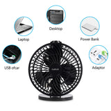 "7"" USB Desk Fan – Daffodil UFN120 - Stay Cool at your Desk on Hot Summer Days    iDaffodil  Fans   iDaffodil - Consumer Electronics at Affordable Prices"