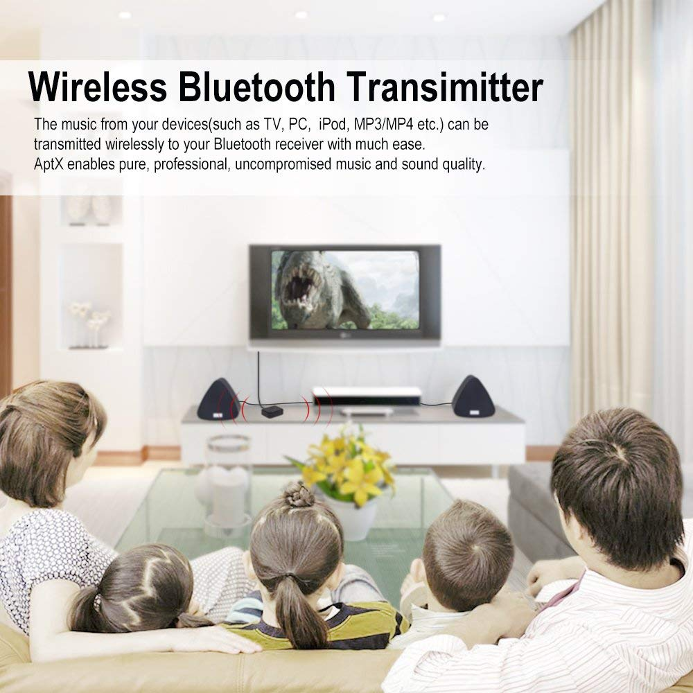 Dual Bluetooth Headphone Adapter for TV - August MR270 - Connect Two Pairs of Wireless Headphones to Your TV    August  Transmitter   iDaffodil - Consumer Electronics at Affordable Prices