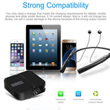 Slim Foldable USB Charger - August UMC301 - 1-Port for iPhone iPad and Android