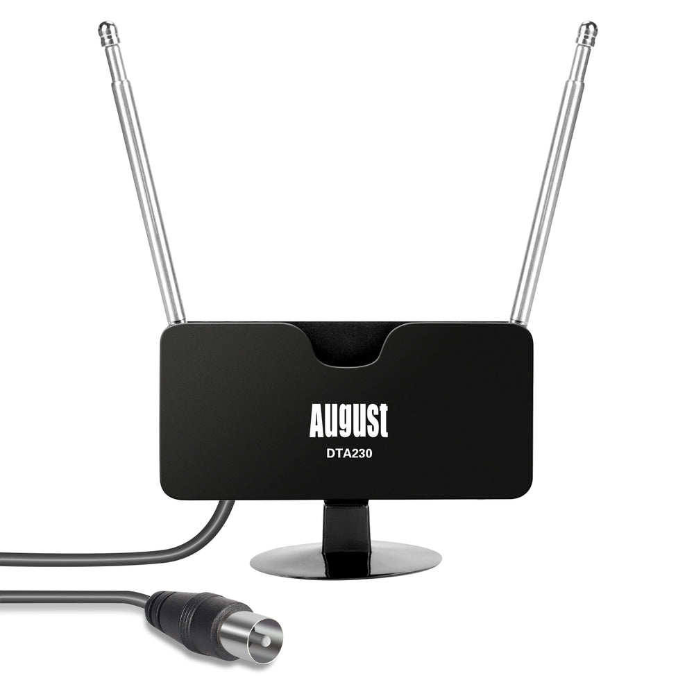 Freeview TV Aerial - Portable Digital Antenna for TV Tuner/DVB-T Television/DAB - August DTA230    August  TV Aerial   iDaffodil - Consumer Electronics at Affordable Prices