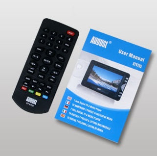 Replacement Remote for August DTV705