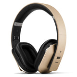 August EP650 Wireless Bluetooth Headphones with Android/iOS App for Custom Sound Control  Gold  August  Headphones   iDaffodil - Consumer Electronics at Affordable Prices