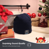 August Bluetooth Beanie Hat - Keep Your Ears Warm, Play Music Wirelessly