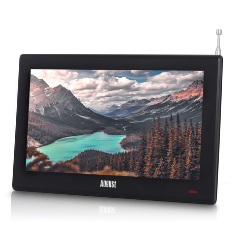 "August DA100D 10"" Portable TV with Built-in Freeview - Ideal for Caravan, Camping, Vehicle and Truck    August  Portable Television   iDaffodil - Consumer Electronics at Affordable Prices"