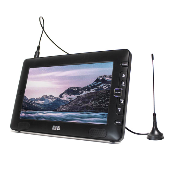 "Refurbished -  9"" Portable Freeview TV Small Screen LCD Television with Multimedia Player Digital TV    August  Portable Television   iDaffodil - Consumer Electronics at Affordable Prices"