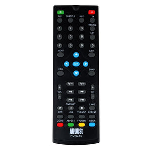 August RM415 - Replacement Remote Control for August DVB415 Freeview Box    August  Remote Controls   iDaffodil - Consumer Electronics at Affordable Prices