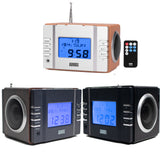 Clock Radio with MP3 Alarm - August MB300 - Play Your Favourite Music from USB and SD or FM Station    August  Digital Radios   iDaffodil - Consumer Electronics at Affordable Prices