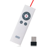 Wireless Presenter with Shortcut Keys and Laser Pointer - Remote Control Range: 15m - Battery Powered - August LP200  White  iDaffodil - Consumer Electronics at Affordable Prices  Wireless Presenter  idaffodil.myshopify.com  iDaffodil - Consumer Electronics at Affordable Prices