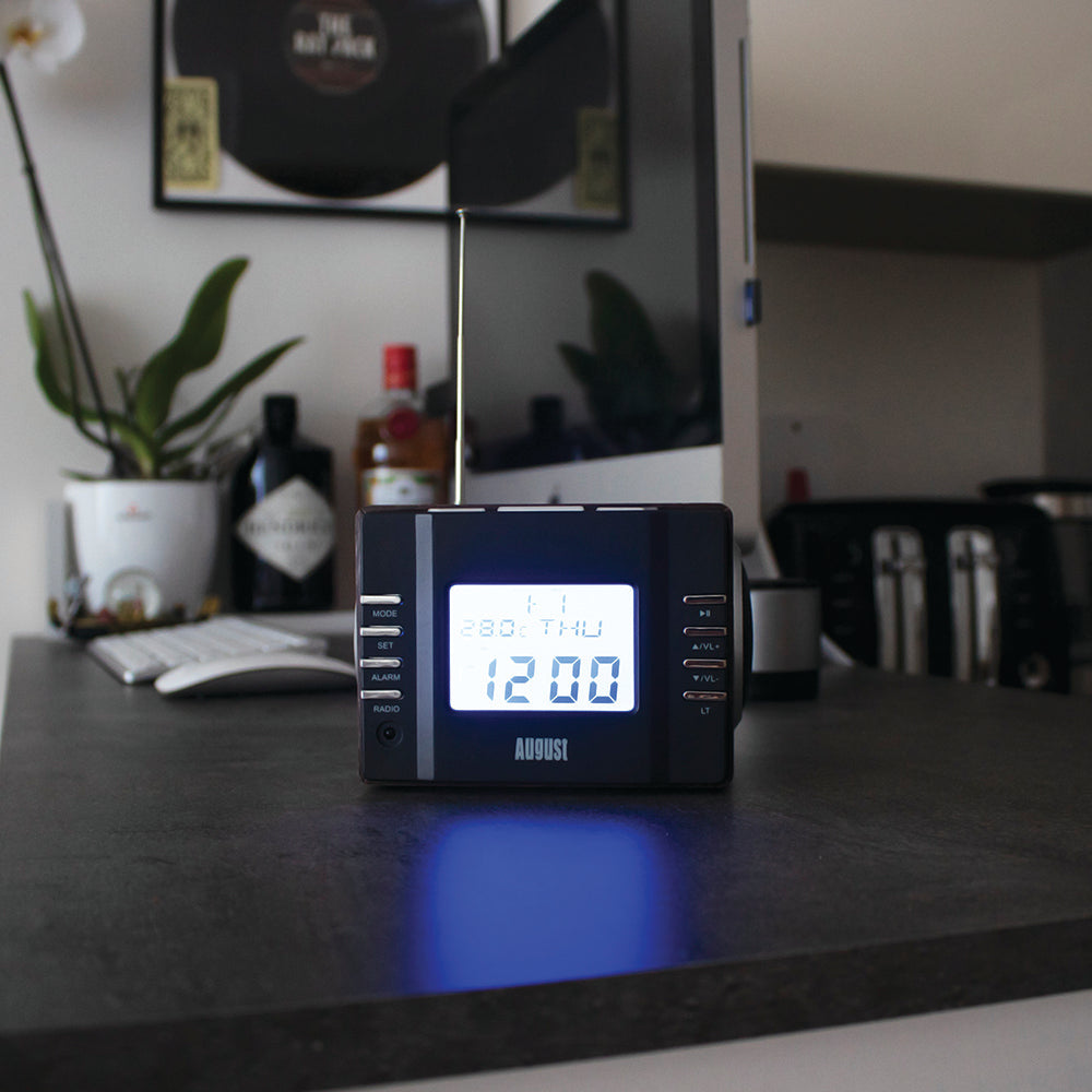 Refurbished - Clock Radio with MP3 Alarm - Wake to your Favourite Music from USB SD or FM    August  Digital Radios   iDaffodil - Consumer Electronics at Affordable Prices