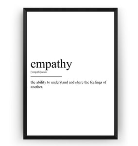 Empathy Definition Print - Magic Posters