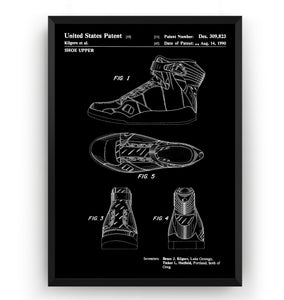Nike Air Jordan 1990 Patent Print - Magic Posters