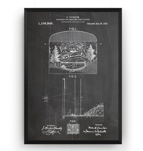 Apparatus For Producing Stage Effects 1914 Patent Print