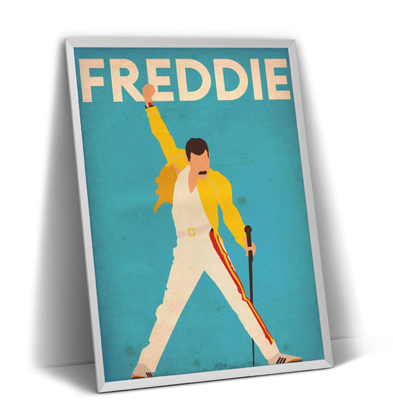 Freddie Mercury Poster - Magic Posters
