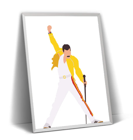 Freddie Mercury Print - Magic Posters