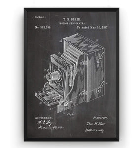 Lucidograph Camera Patent Print - Magic Posters