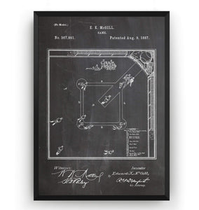 Our National Ball Game Patent Print - Magic Posters