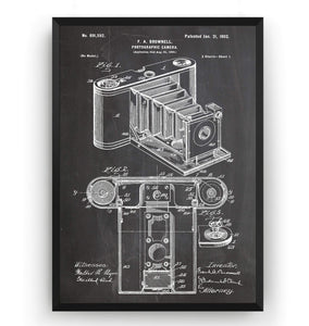 Pocket Folding Camera 1902 Patent Print - Magic Posters