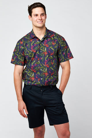 Paradise Print Short Sleeve Shirt
