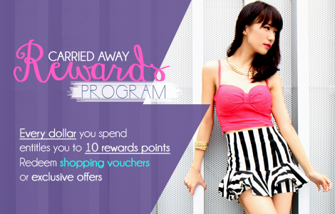 Carried Away Rewards Program