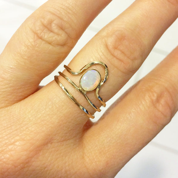 Riley Opal/ Elley Ring Stack