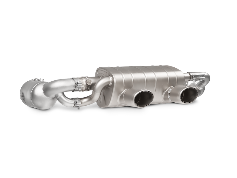 Akrapovic 16-17 Porsche 911 Carrera S/4/4S/GTS (991.2) Link Pipe Set w/ Cat (SS)