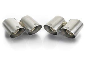 aFe MACH Force-Xp 304 SS OE Exhaust Tips Polished 12-16 Porsche 911 (C2S 991) H6 3.8L