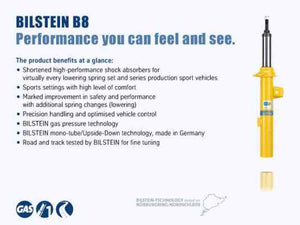 Bilstein B8 Performance Plus 12-16 Mercedes-Benz SLK55 AMG (w/o Dynamic Susp) Front Strut Assembly