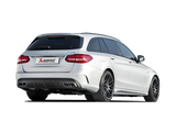 Akrapovic 15-17 AMG C63 Estate Evolution Line Cat Back (Titanium) w/ Carbon Tips (Req. Link Pipe)