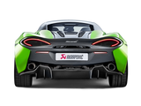 Akrapovic 16-17 McLaren 540C 570S Slip-On Line (Titanium) w/ Carbon Tips