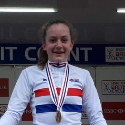 Zoe Backstedt UK Cyclocross champion