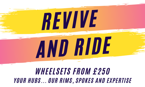 Revive and Ride - £100 off to rebuild your own hubs