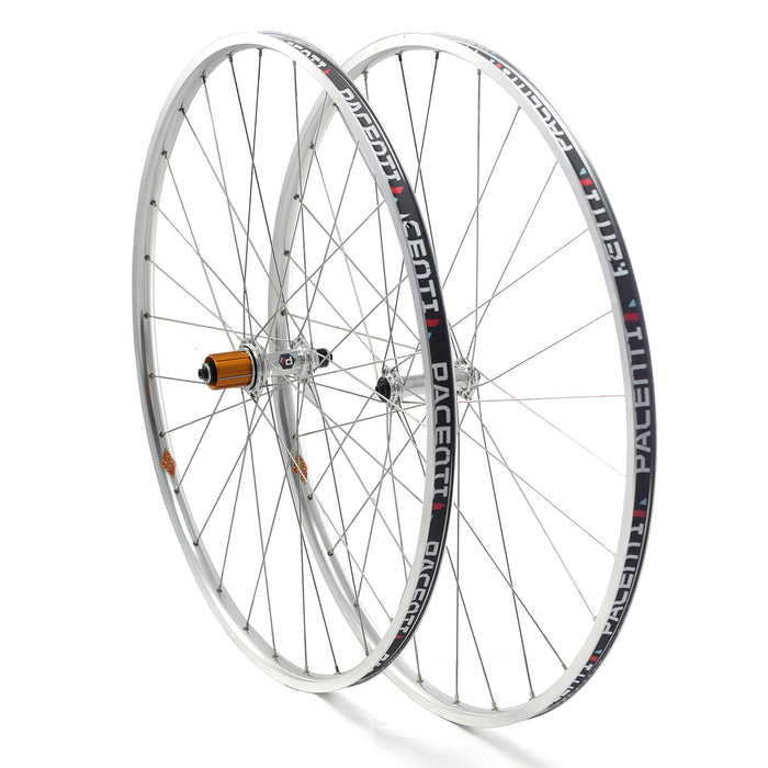 Brevet wheel set 700c rim brake Low Flange