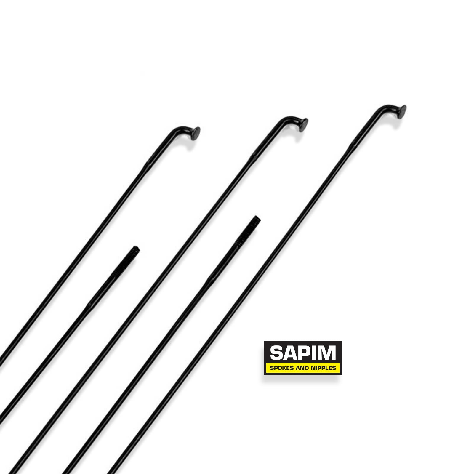 Sapim d-light spoke black 180-210