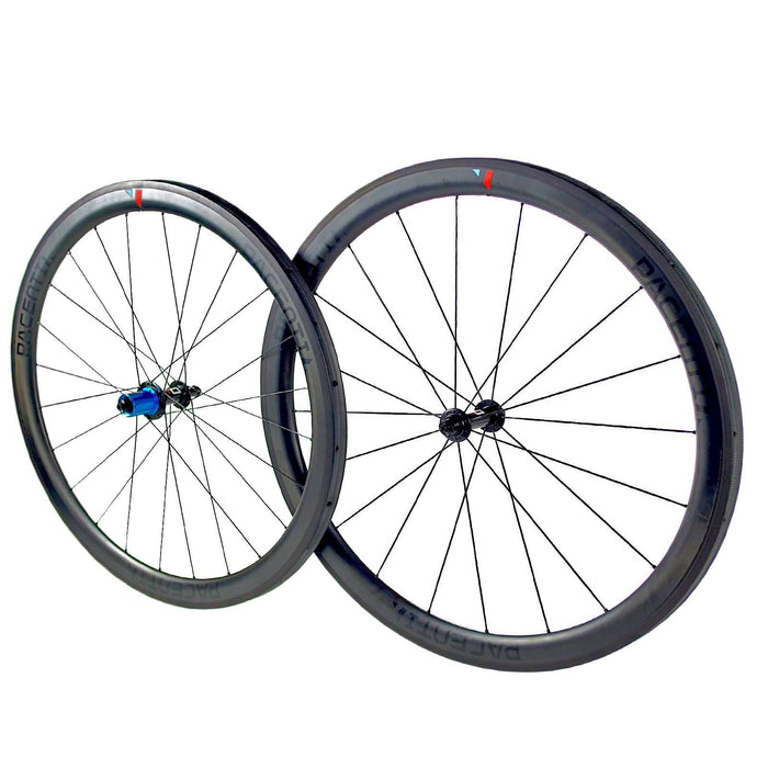 Carbon 45 Tubular Rim brake wheelset 700c