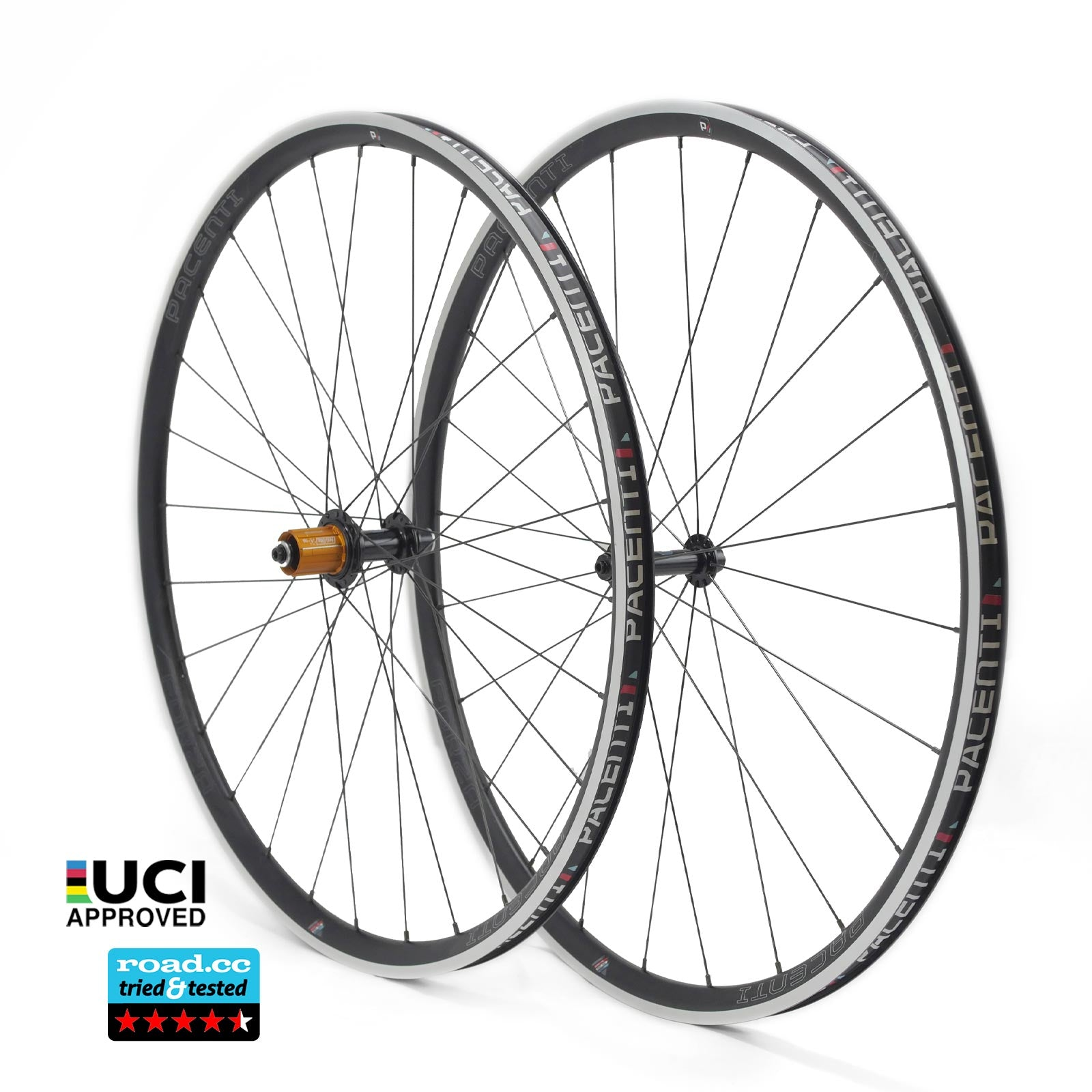 WINTER TRAINING BUNDLE - Forza wheelset rim brake (28h) with Schwalbe Durano Tyres, Tubes and Skewers