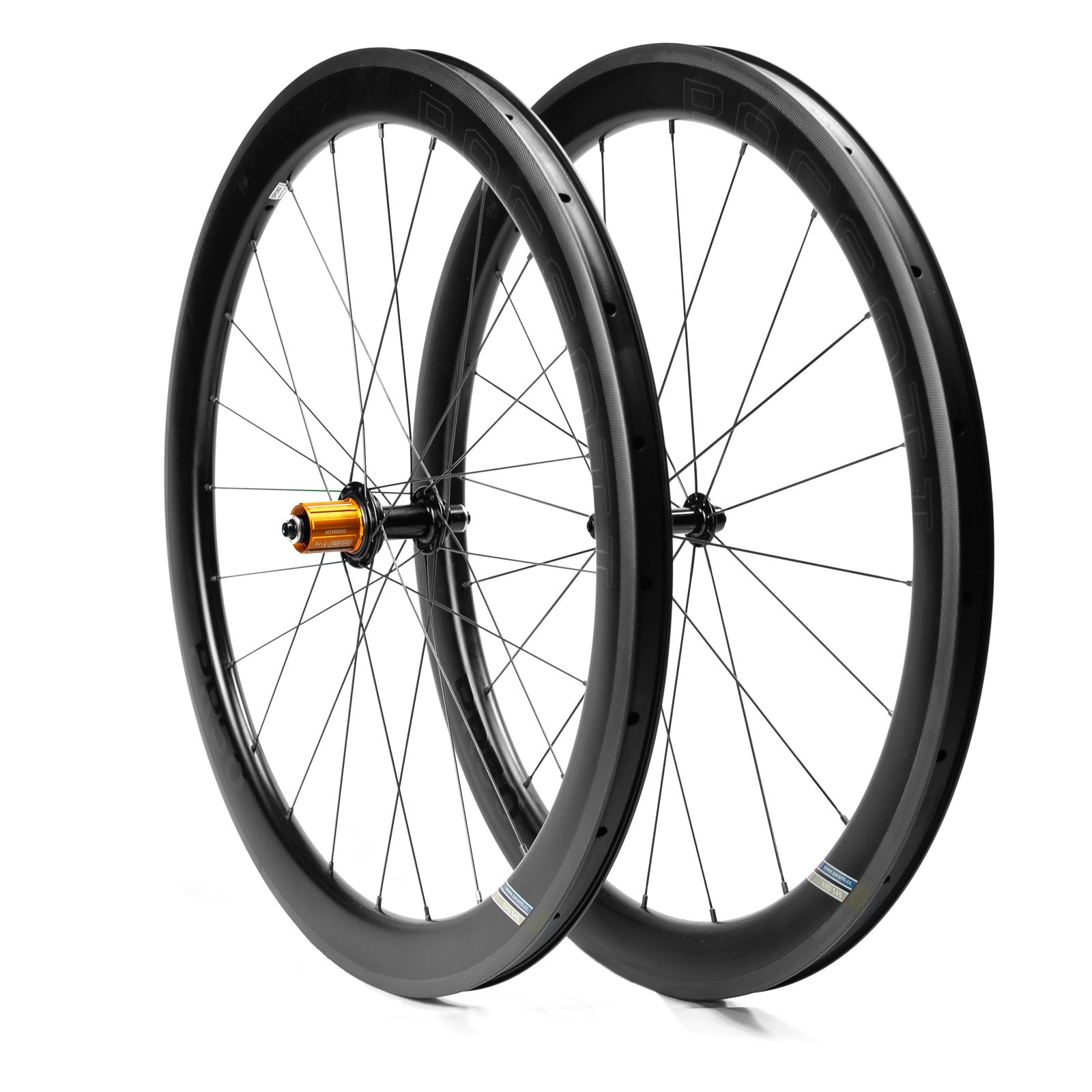 Carbon PR50 rim brake wheel set 700c