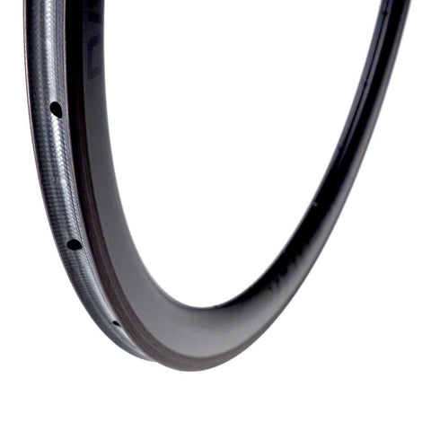 Carbon 45mm front rim tubular 20h 700c