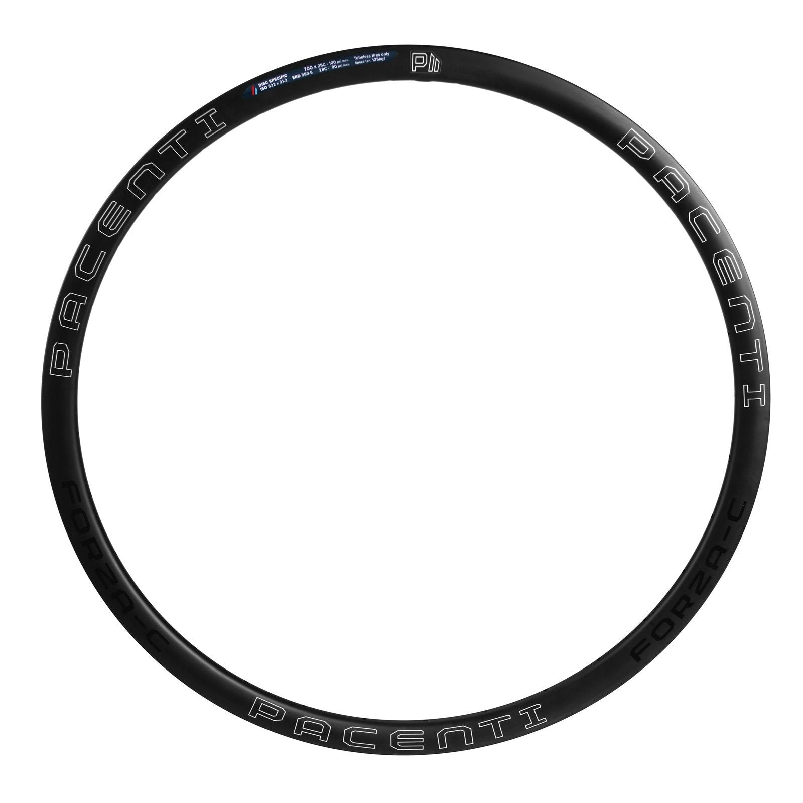 Forza-C 30mm rim white disc clincher 700c Asymmetric