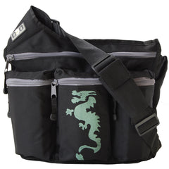 Diaper Dude Black Dragon Diaper Bag