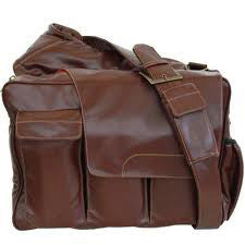 Diaper Dude Brown Messenger II Diaper Bag