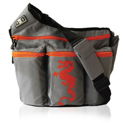 Diaper Dude Grey Dragon Bag