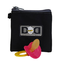 Diaper Dude Pacifier Pouch - Black