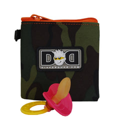 Diaper Dude Pacifier Pouch - Camo