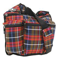 Diaper Dude Messenger Plaid