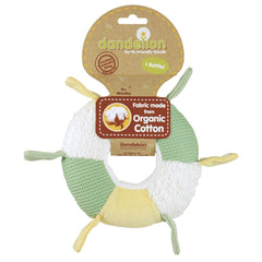 Dandelion Organic Toy - Ring Rattle